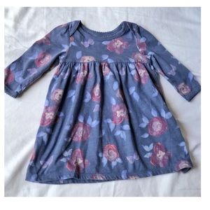 Old Navy Baby Girl Long Sleeve Floral Dress